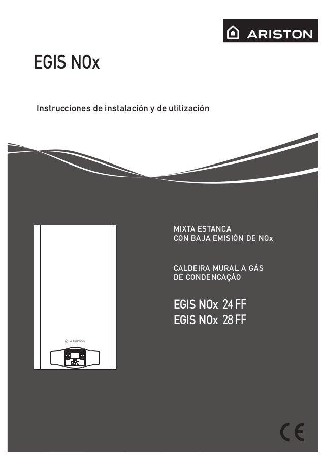 Manual ariston nox 24 ff bajo n ox.