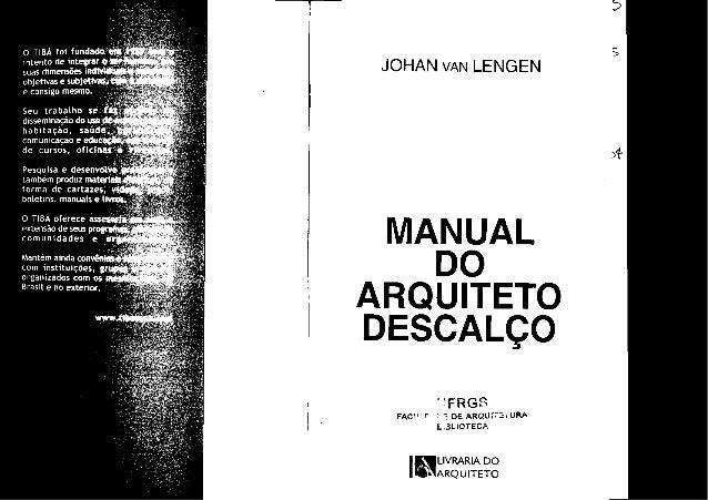 Manual arquiteto descalço