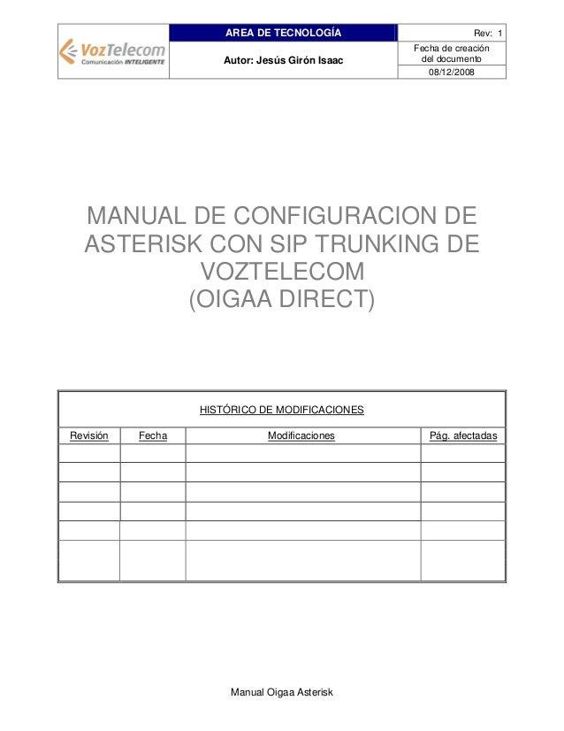 AREA DE TECNOLOGÍA Autor: Jesús Girón Isaac  Rev: 1 Fecha de creación del documento 08/12/2008  MANUAL DE CONFIGURACION DE...