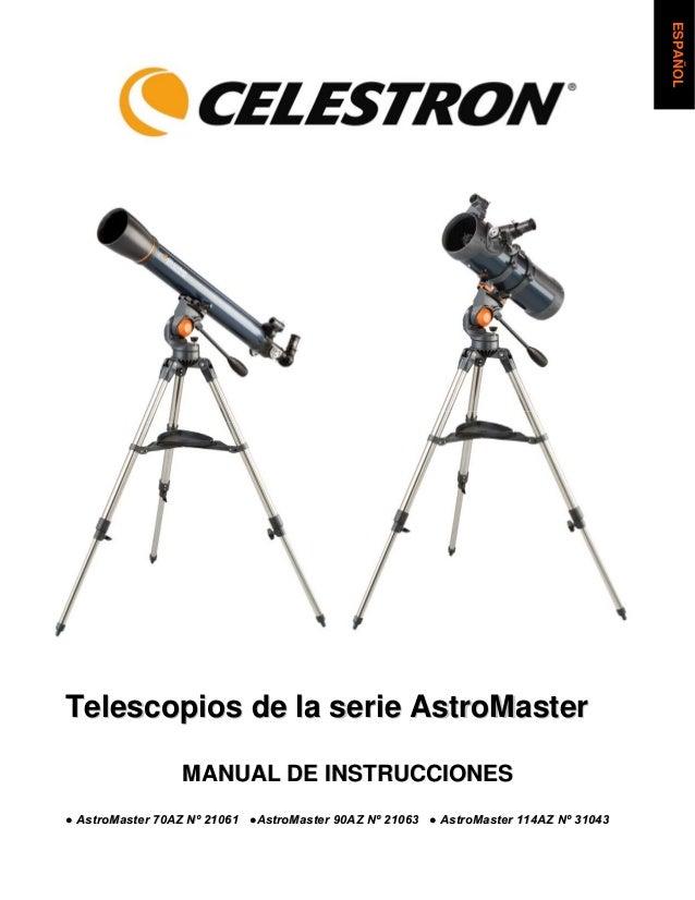 Manual astro master 21061_21063_31043_spanish