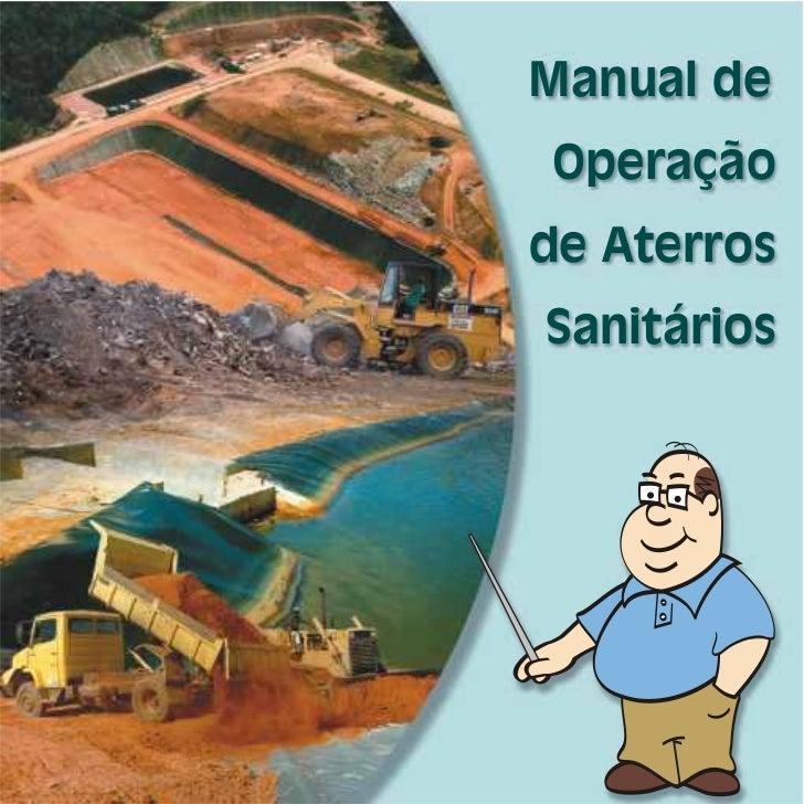Manual de Operação de Aterros Sanitários