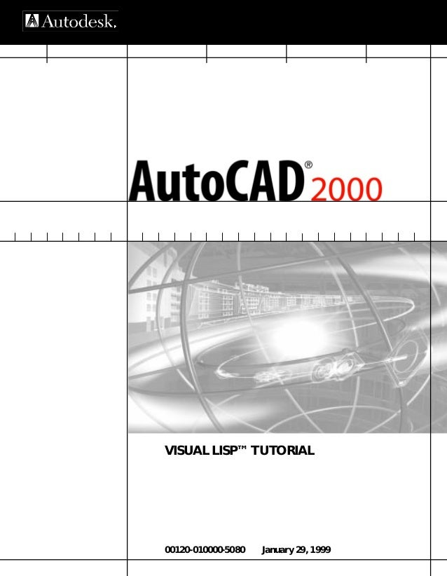 Manual) auto cad 2000 visual lisp tutorial (autocad)
