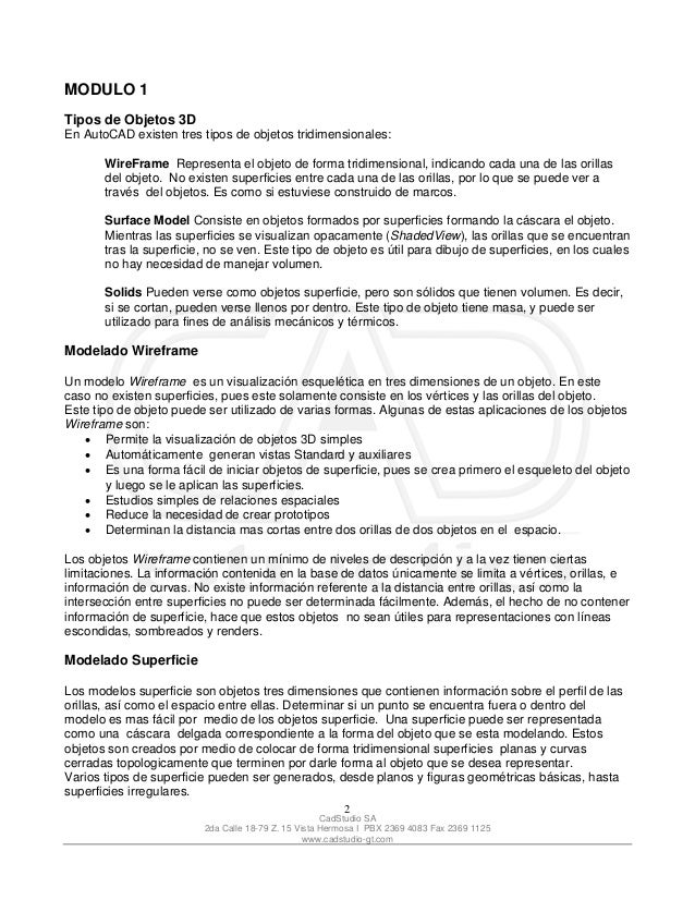 manual auto cad 2007 3d rh es slideshare net manual de autocad 2012 pdf manual de autocad 2013