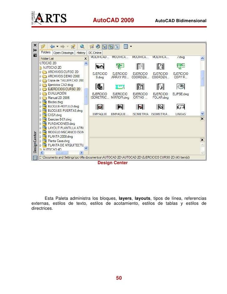 manual autocad 2009 espa ol rh es slideshare net manual de autocad 2009 manual autocad 2014