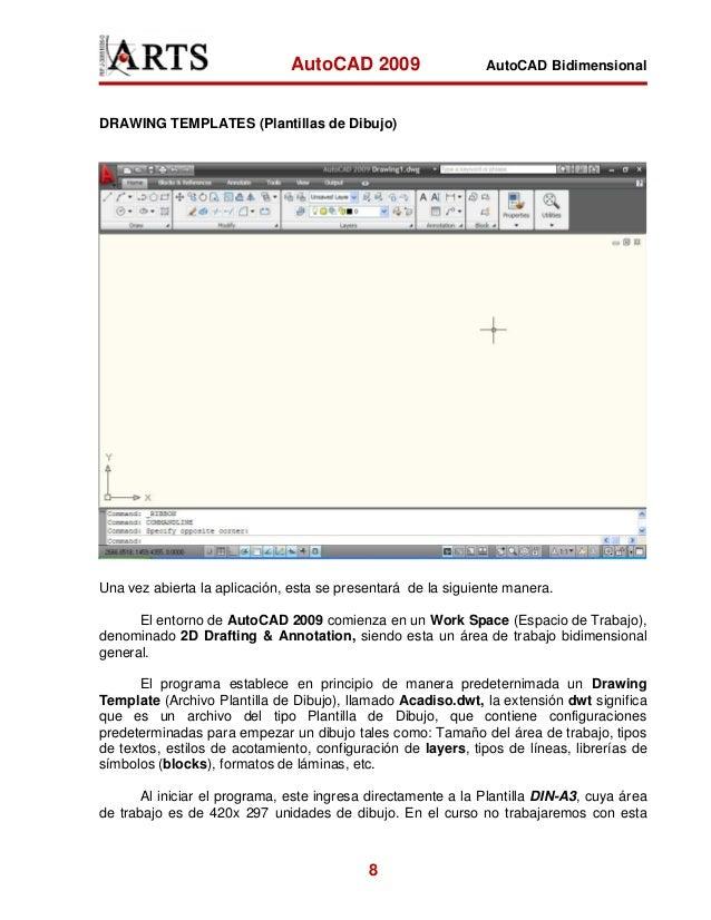 manual autocad 2009 espa ol rh es slideshare net manual autocad land 2009 español pdf descargar manual autocad 2009 español pdf