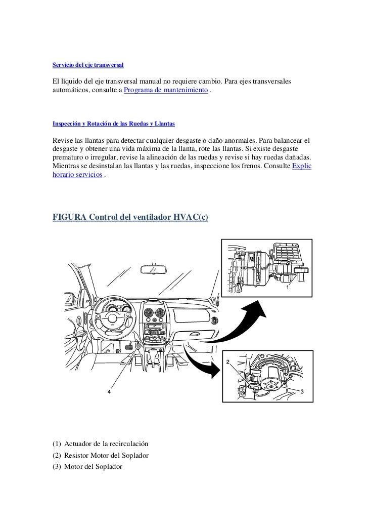 manual aveo pdf 2005 rh es slideshare net manual de servicio aveo 2008 manual de servicio aveo 2008