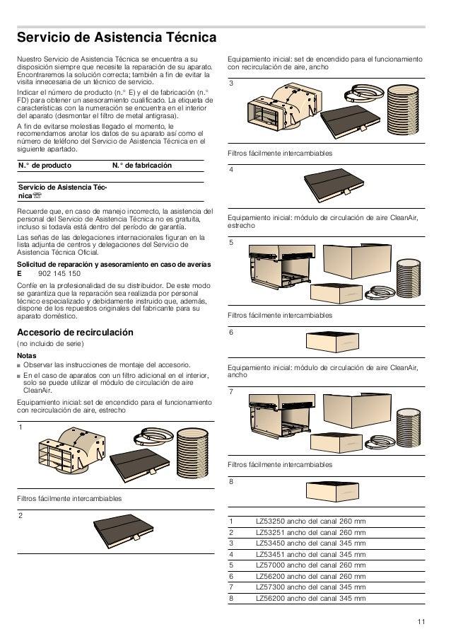 11 Servicio de Asistencia Técnica Nuestro Servicio de Asistencia Técnica se encuentra a su disposición siempre que necesit...