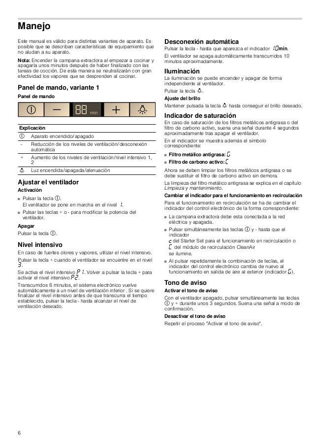 6 Manejo Este manual es válido para distintas variantes de aparato. Es posible que se describan características de equipam...