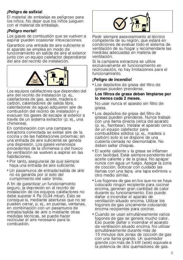 Manual balay   campana 3bc897xma Slide 3