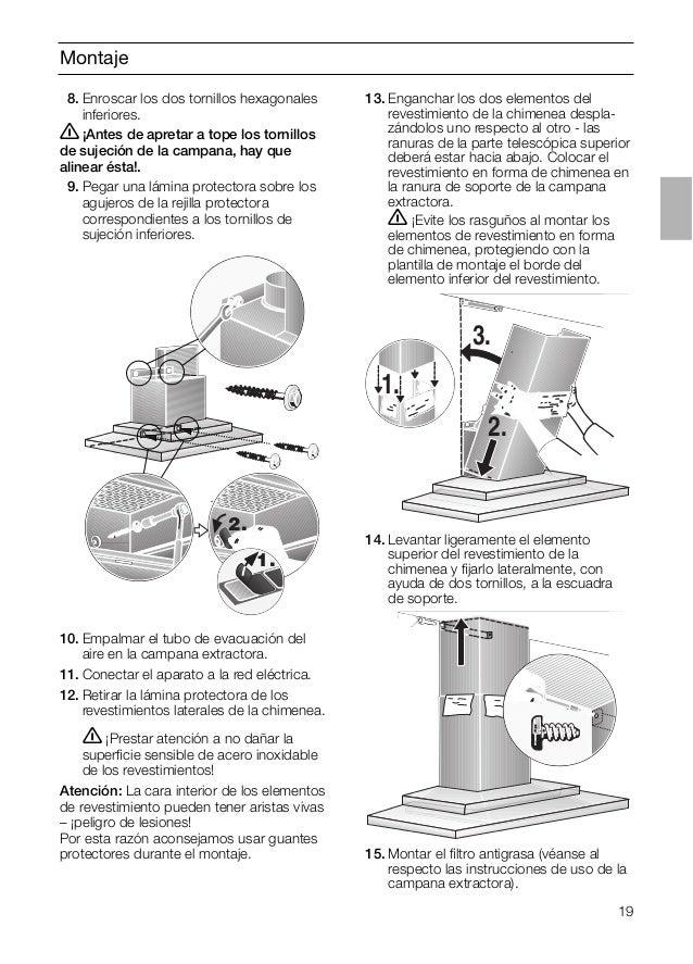 Instalar tubo campana extractora fabulous la campana - Como colocar una campana extractora ...