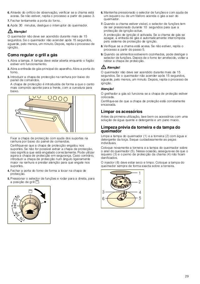 30 Recipientes apropriados Advertências para utilização As seguintes recomendações ajudá-lo-ão a poupar energia e a evitar...