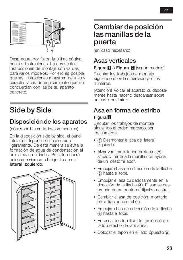 23 Despliegue, por favor, la última página con las ilustraciones. Las presentes instrucciones de montaje son válidas para ...