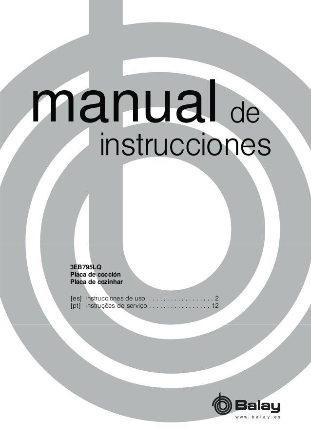 PDQXDO [es] Instrucciones de uso . . . . . . . . . . . . . . . . . . 2 [pt] Instruções de serviço . . . . . . . . . . . . ...