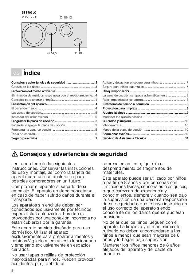 Manual balay   encimera 3eb795lq Slide 2