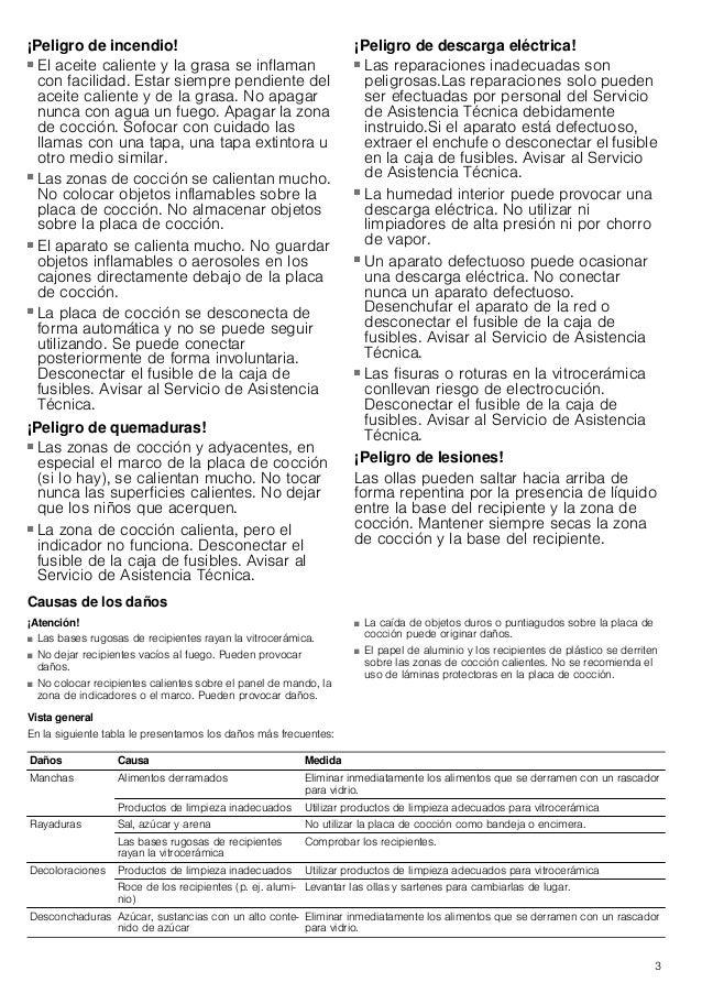 Manual balay   encimera 3eb795lq Slide 3