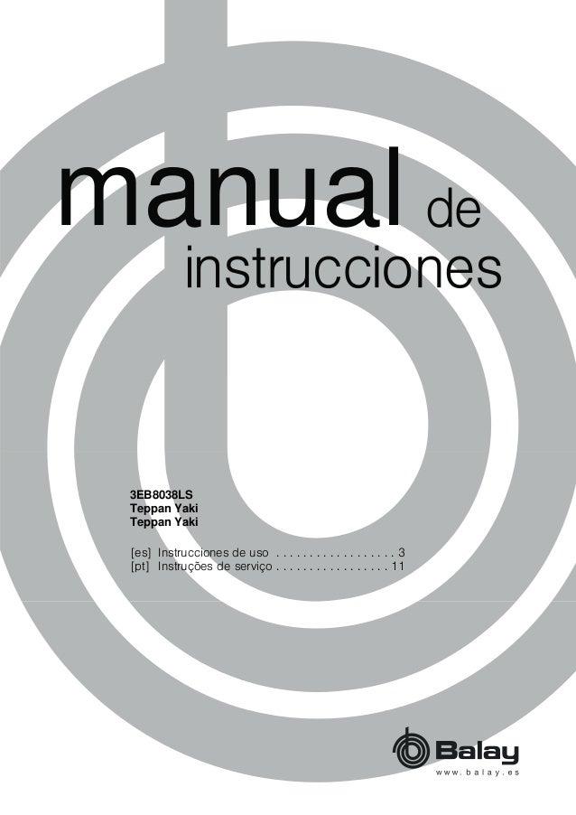 PDQXDO [es] Instrucciones de uso . . . . . . . . . . . . . . . . . . 3 [pt] Instruções de serviço . . . . . . . . . . . . ...