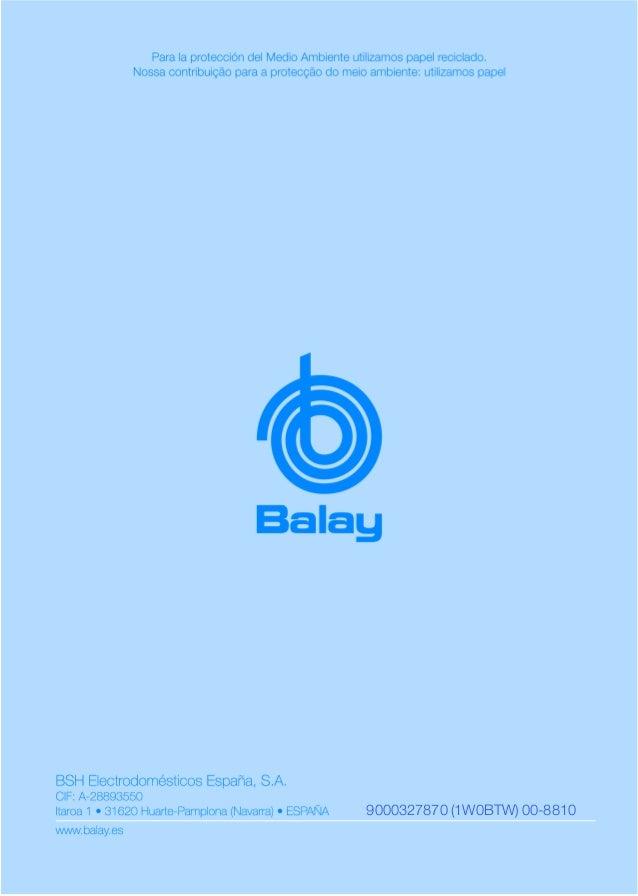 Manual balay   encimera 3eb950m