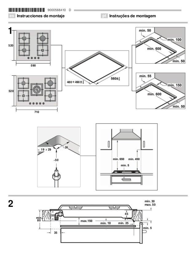 *9000568410* 9000568410 D Û Instrucciones de montaje ì Instruções de montagem          a a      PD[  PLQ  PLQ