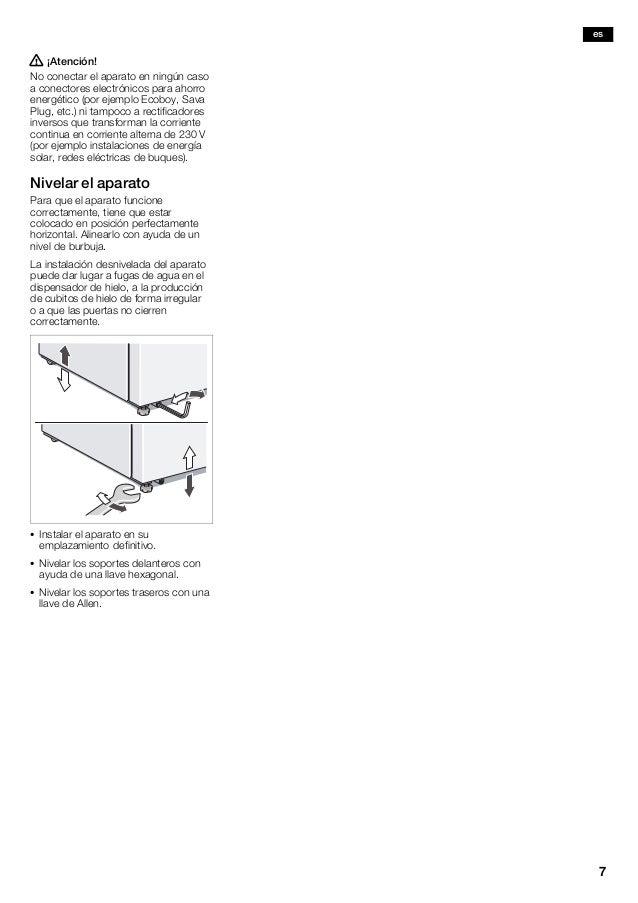 Manual balay frigorífico 3fal4651