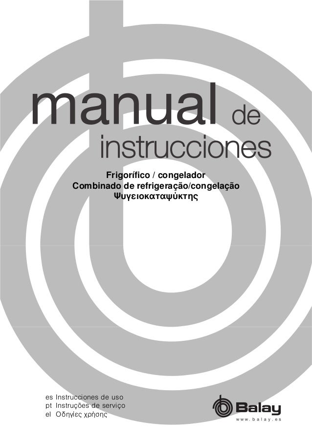manual balay frigor fico 3ff3760p rh es slideshare net manual de instrucciones balay 3ts976ba manual de instrucciones balay ts 6010