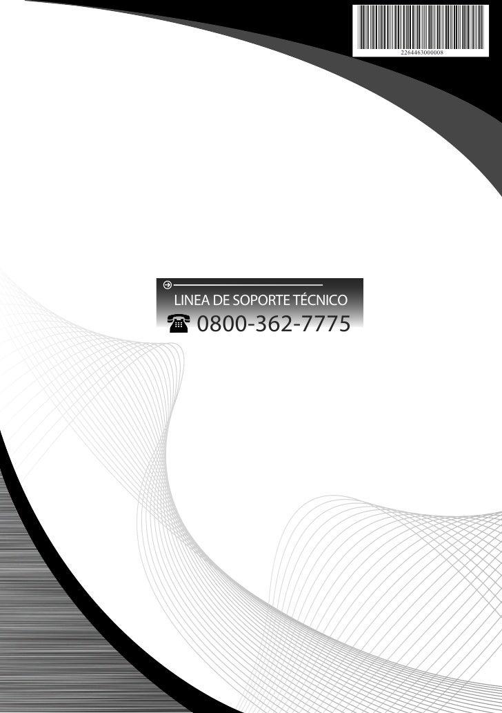 2264463000008LINEA DE SOPORTE TÉCNICO   0800-362-7775