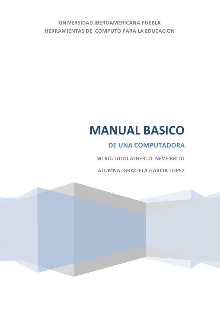 Manual basico de instrucciones