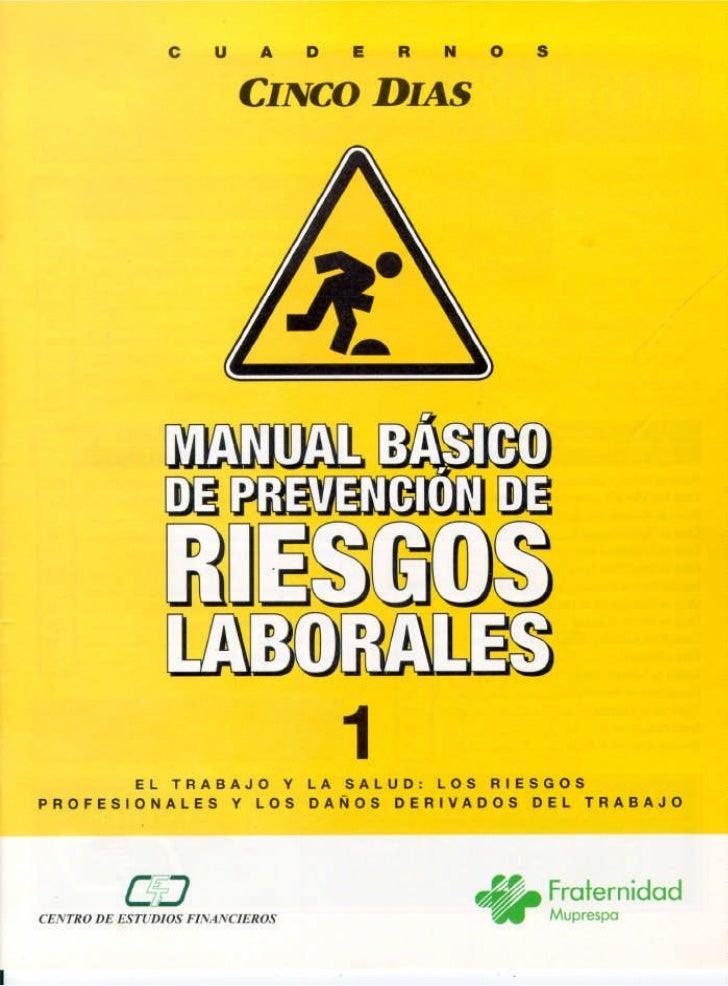 Manual basico de prevenciòn de riesgos