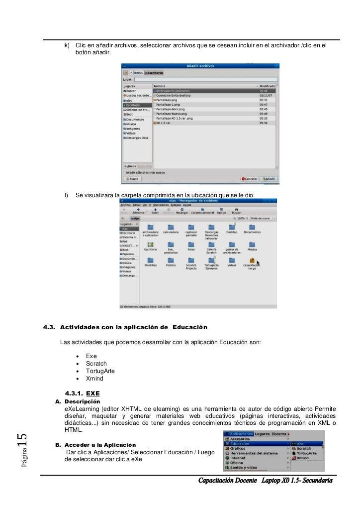 k) Clic en añadir archivos, seleccionar archivos que se desean incluir en el archivador /clic en el                  botón...