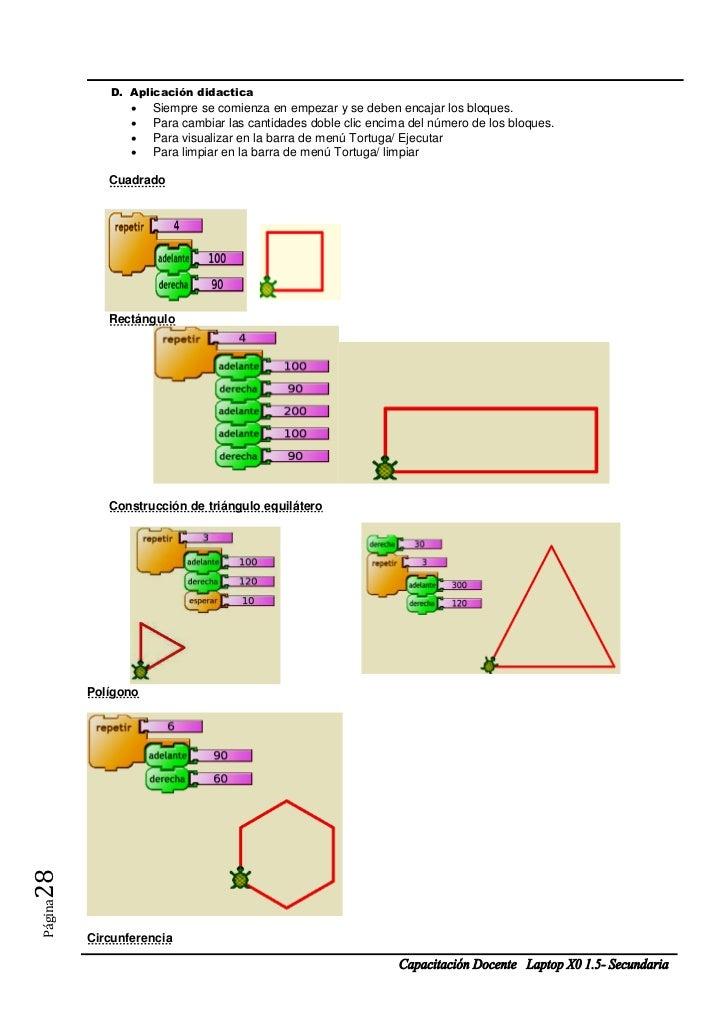 D. Aplicación didactica                   Siempre se comienza en empezar y se deben encajar los bloques.                ...