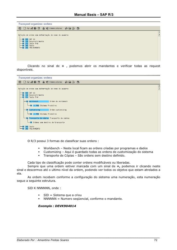 manual basis sap r3 rh pt slideshare net sap r 3 user manual common sap r/3 functions manual