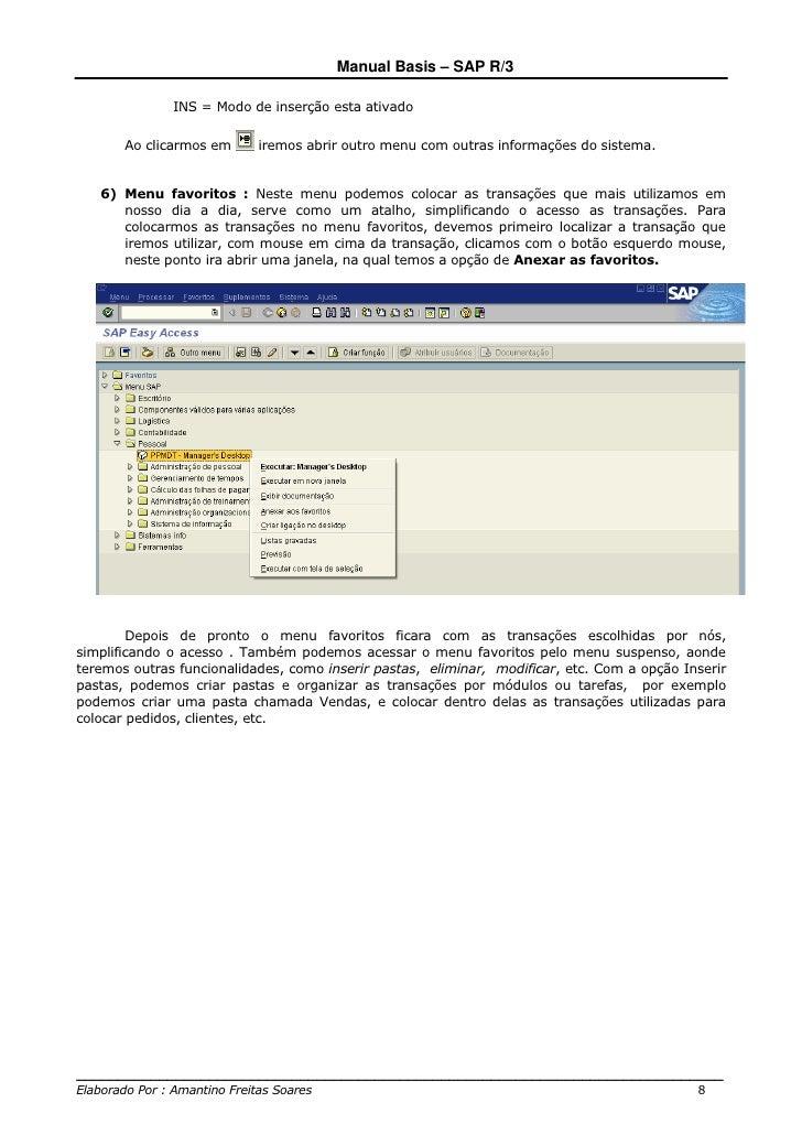 manual basis sap r3 rh pt slideshare net manual de sistema sap manual de sistema sap gratis en español