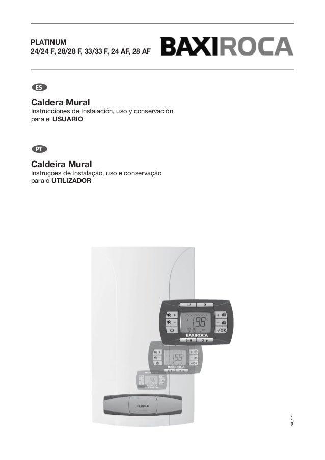 manual caldera baxiroca platinum compact 24 24 f