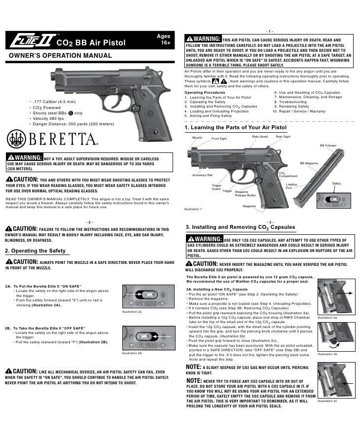 beretta elite ii repair manual free owners manual u2022 rh wordworksbysea com