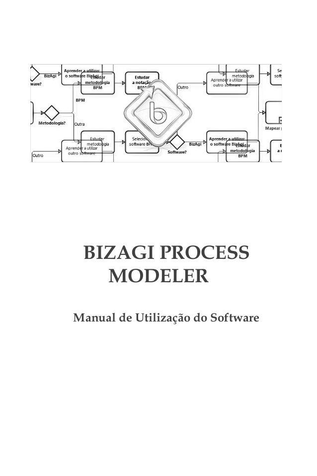 BIZAGI PROCESS   MODELERManual de Utilização do Software