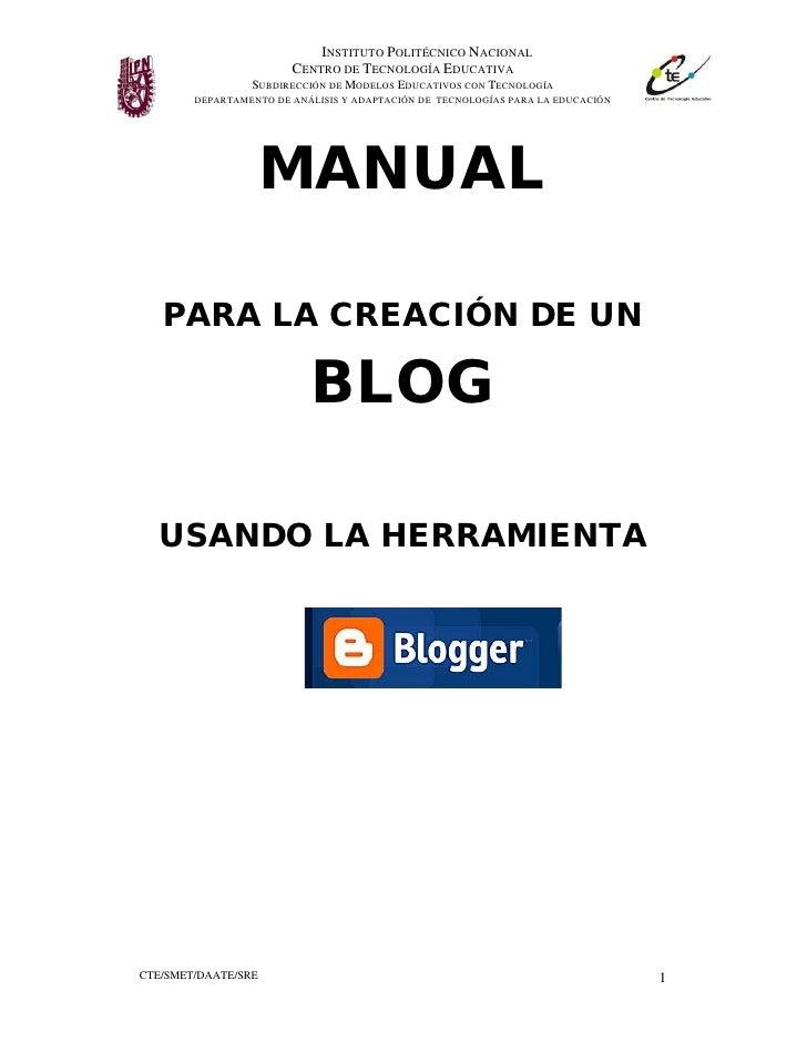 INSTITUTO POLITÉCNICO NACIONAL                         CENTRO DE TECNOLOGÍA EDUCATIVA                 SUBDIRECCIÓN DE MODE...