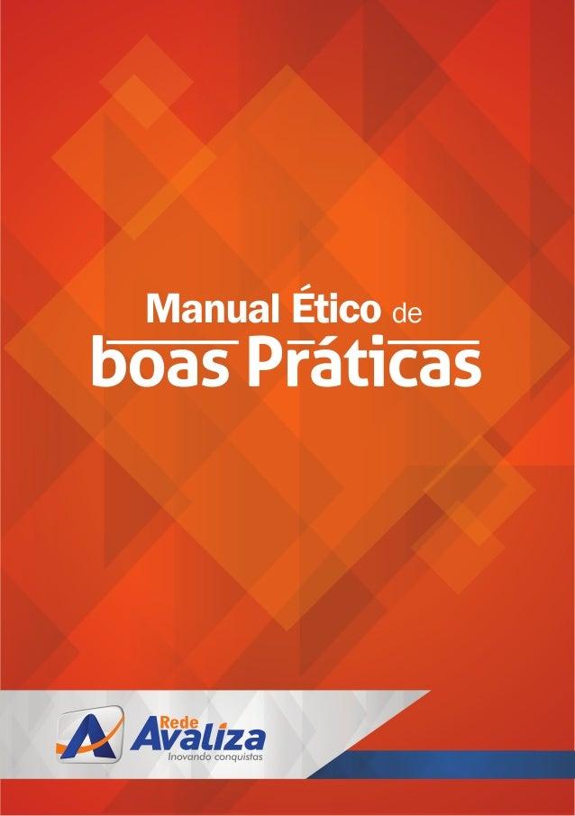 Manual Ético de Boas Práticas Rede Avaliza