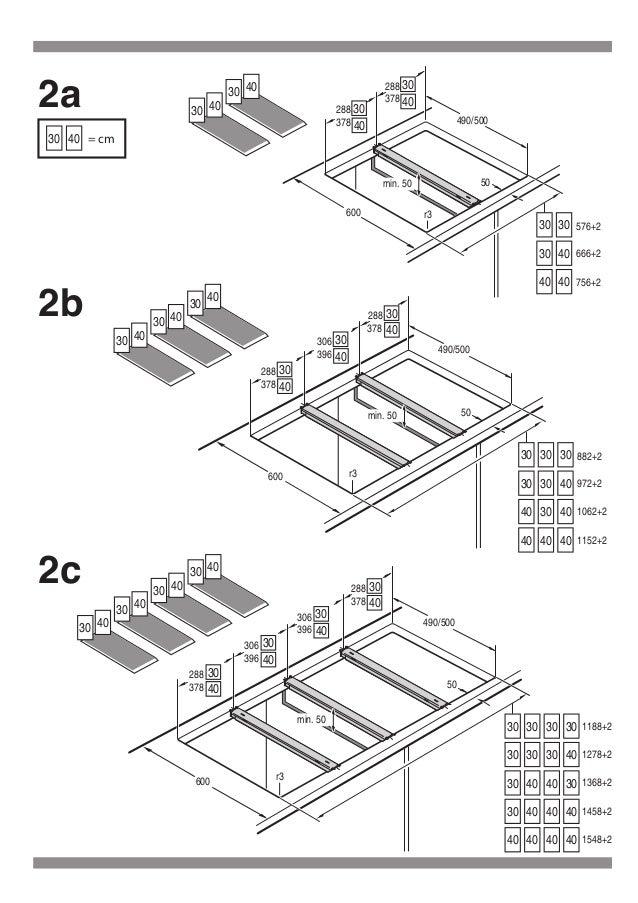 Manual bosch accesorio de unón para encimera hez394301