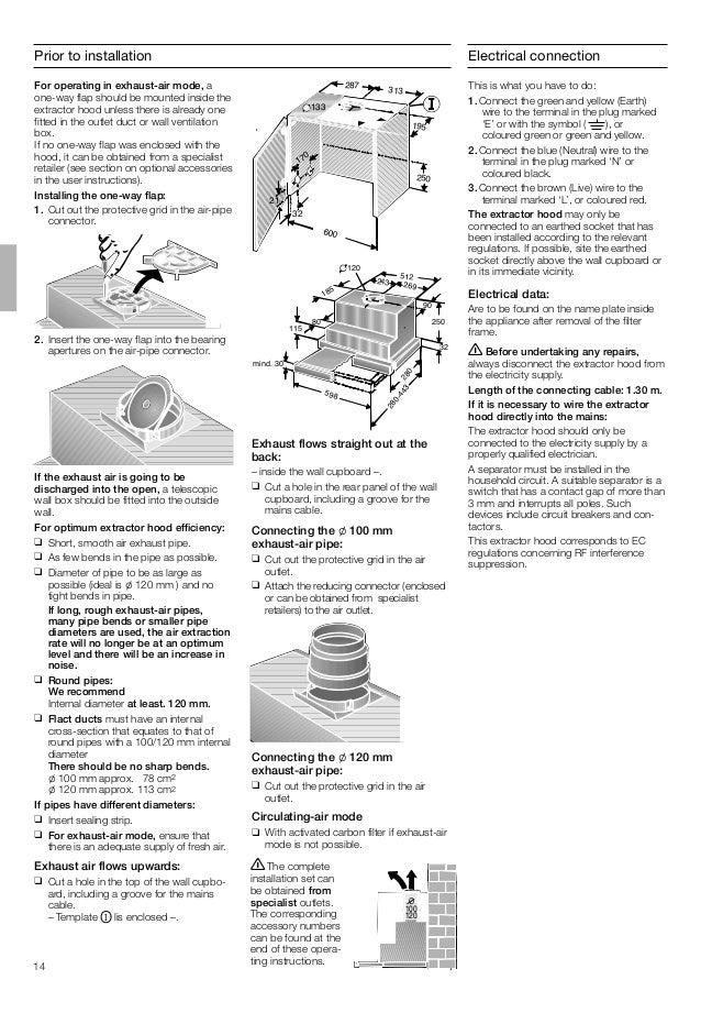 Manual bosch campana dhi645 hx