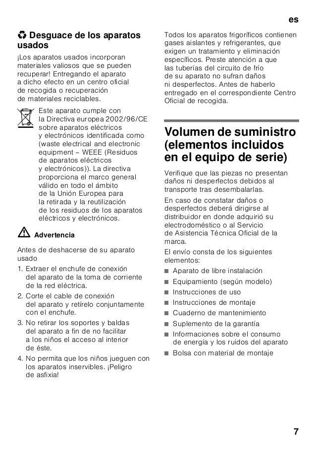 Manual bosch combi kgn36 sr31