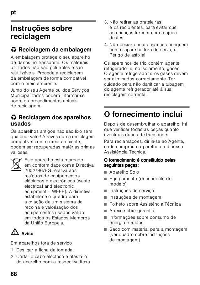 Manual bosch   frigorífico dos puertas inox kde33 ai40