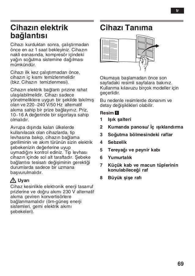 Manual bosch   frigorifico integrable kir38 a50