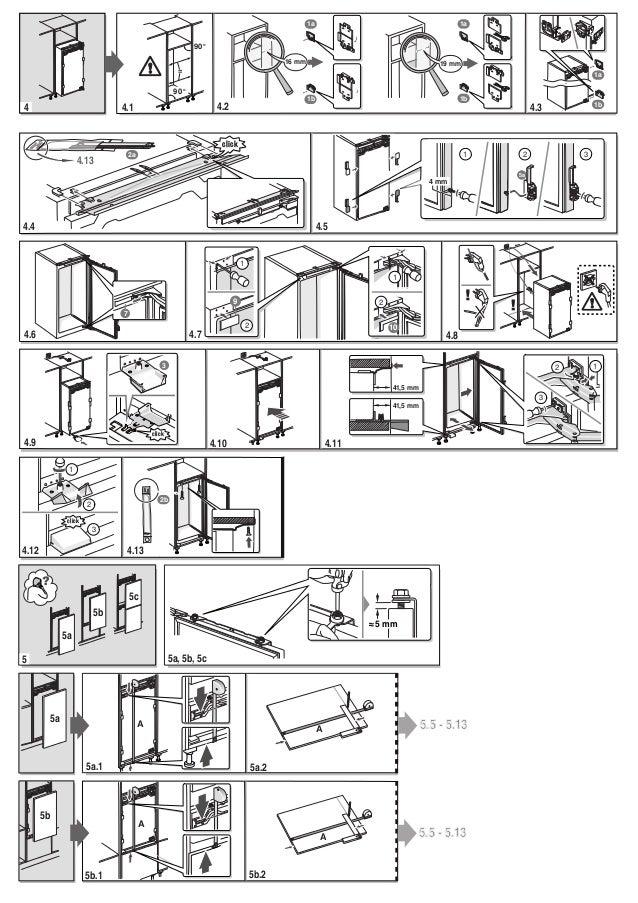 Manual bosch frigorífico integrable kir81 af30