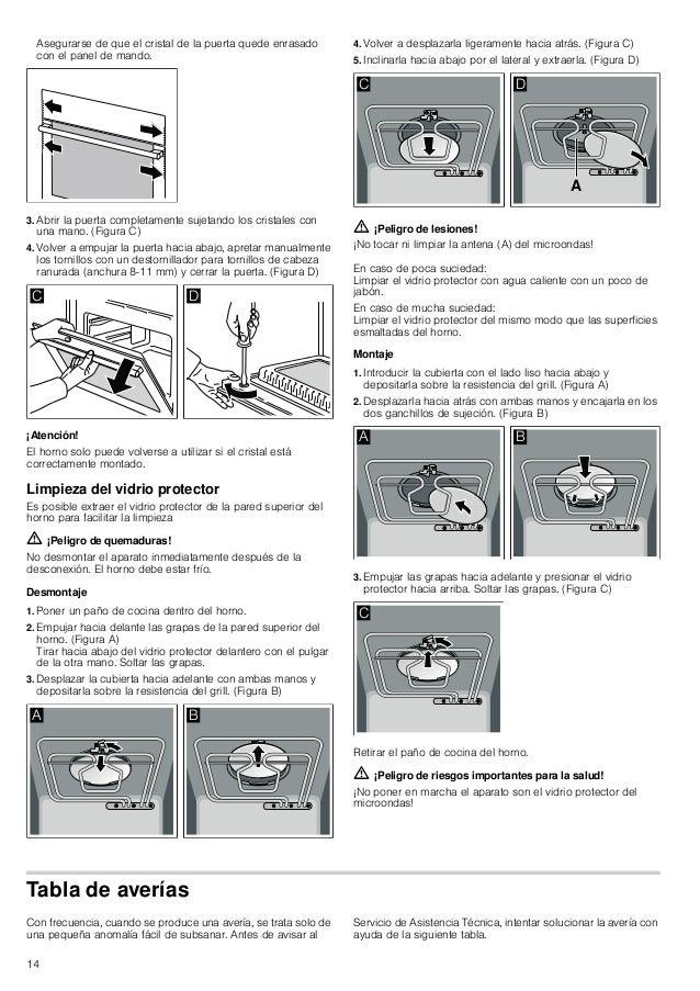 Manual bosch horno multifunción en inox hbc84 k553