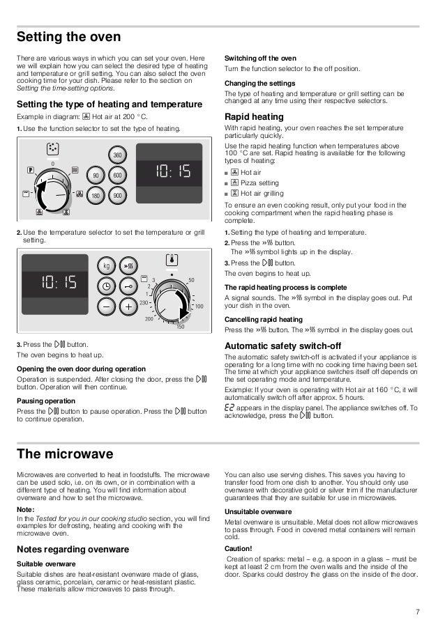 Manual Bosch Horno Multifunci 243 N Inox Hbc84 H500