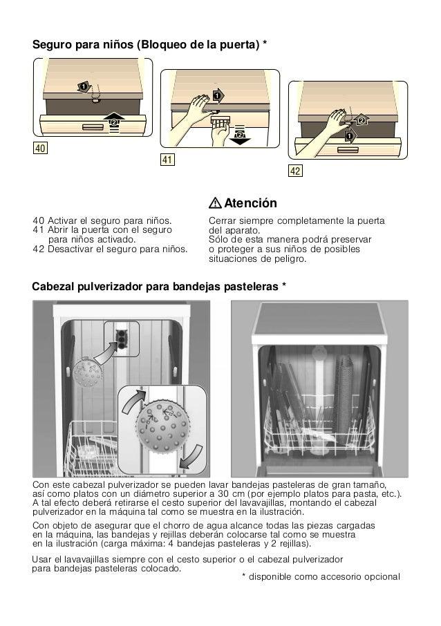 Manual bosch   lavavajillas inox sms57 e28eu