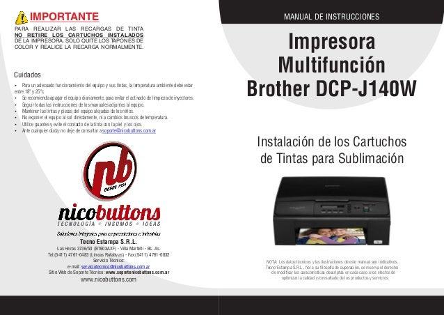 manual brother dcp j140w rh es slideshare net guia de usuario impresora brother dcp-j140w guia del usuario impresora brother dcp-j140w