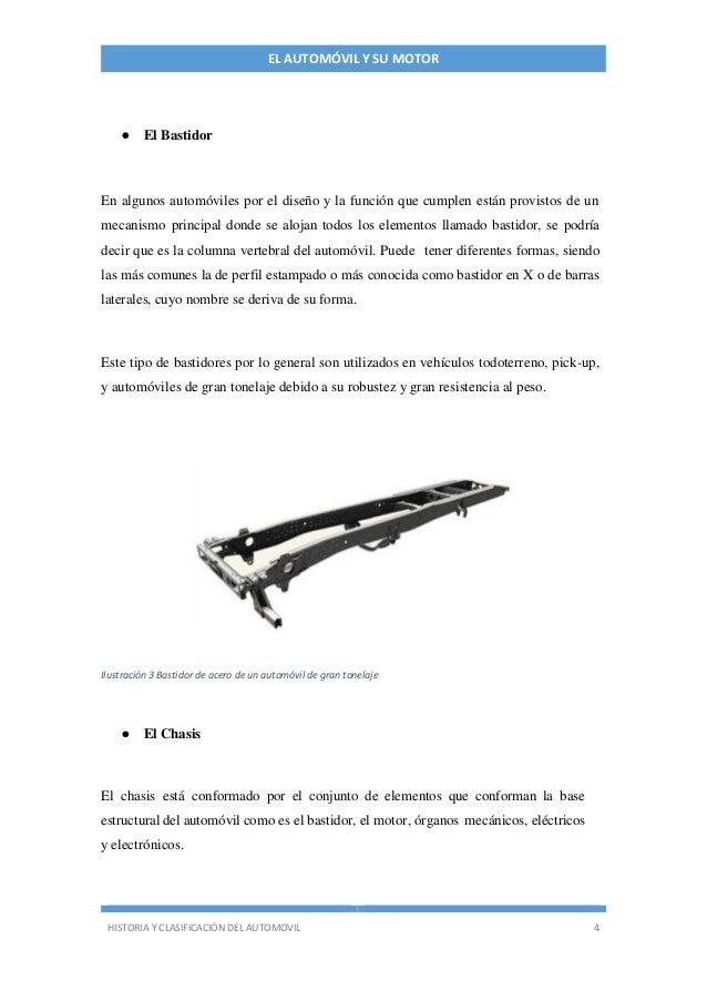 Manual básico acerca del automóvil y su motor