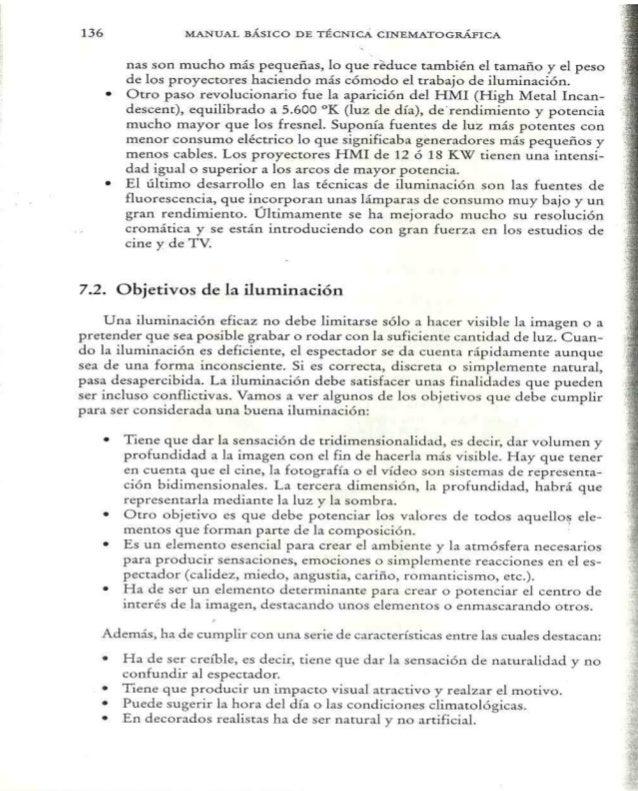 Manual B U00e1sico De T U00e9cnica Cinematogr U00e1fica Y Direcci U00f3n De