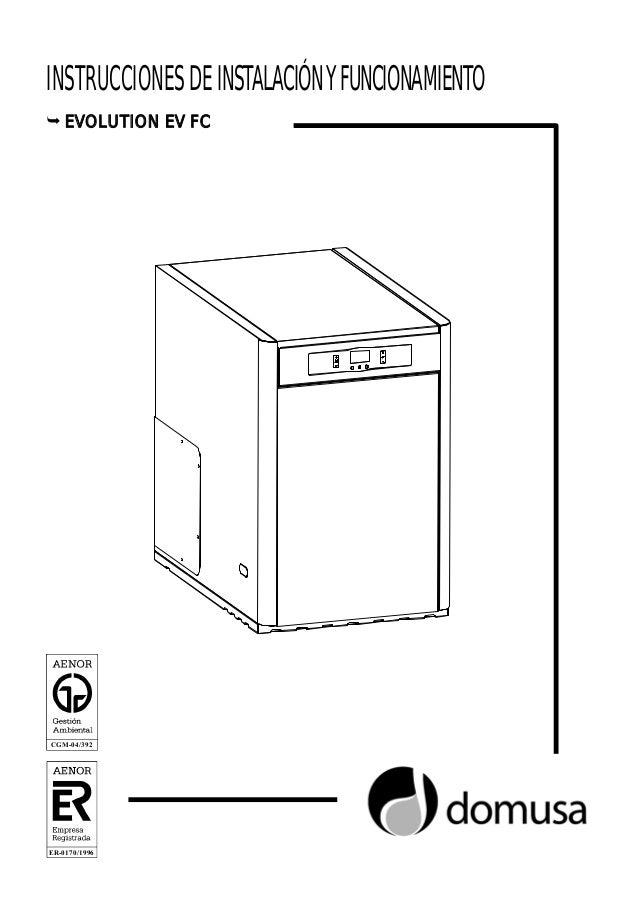 Manual caldera domusa de pie a gasoil evolution ev 30 fm - Calderas gasoil precios ...
