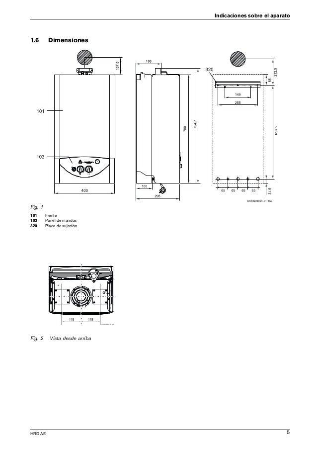 Manual caldera junkers euroline zw 24 - Caldera gas butano ...